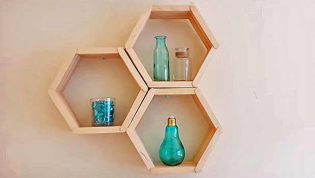 Honeycomb Shelves Are The Easiest Shelves You Ll Ever Make