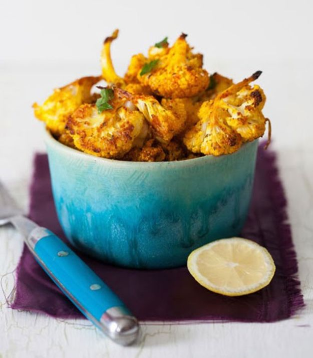Best Lowfat Recipes - Roasted Cauliflower - Easy Low fat and Healthy Recipe Ideas For Eating Well and Dieting, Weight Loss - Quick Breakfasts, Lunch, Dinner, Snack and Desserts - Foods with Chicken, Vegetables, Salad, Low Carb, Beef, Egg, Gluten Free http://diyjoy.com/best-lowfat-recipes