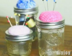 Hands Down, The Best Mason Jar Craft For Everyone Who Loves To Sew