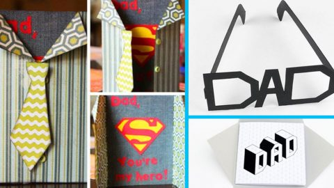 40 Thoughtful DIY Father's Day Cards | DIY Joy Projects and Crafts Ideas