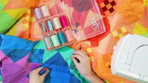 Color Block Rainbow Quilt Tutorial