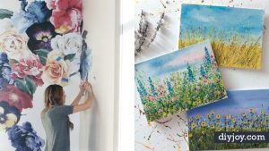 35 Cool Ways To Paint Flowers (Even Beginners Can Do These!)