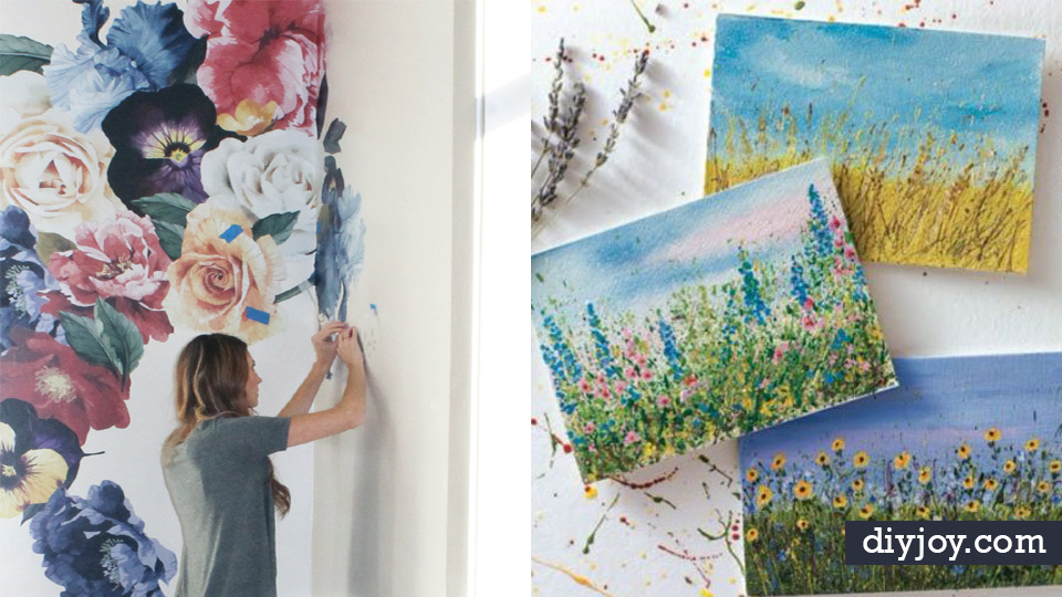 How To Paint Flowers 35 Ways Even