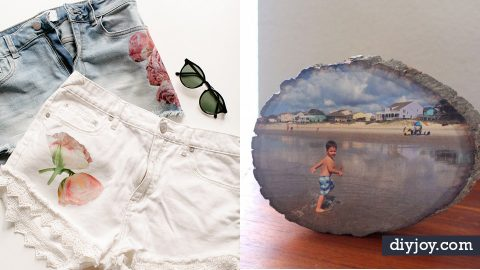 36 Cool Canvas and Image Transfer Ideas | DIY Joy Projects and Crafts Ideas