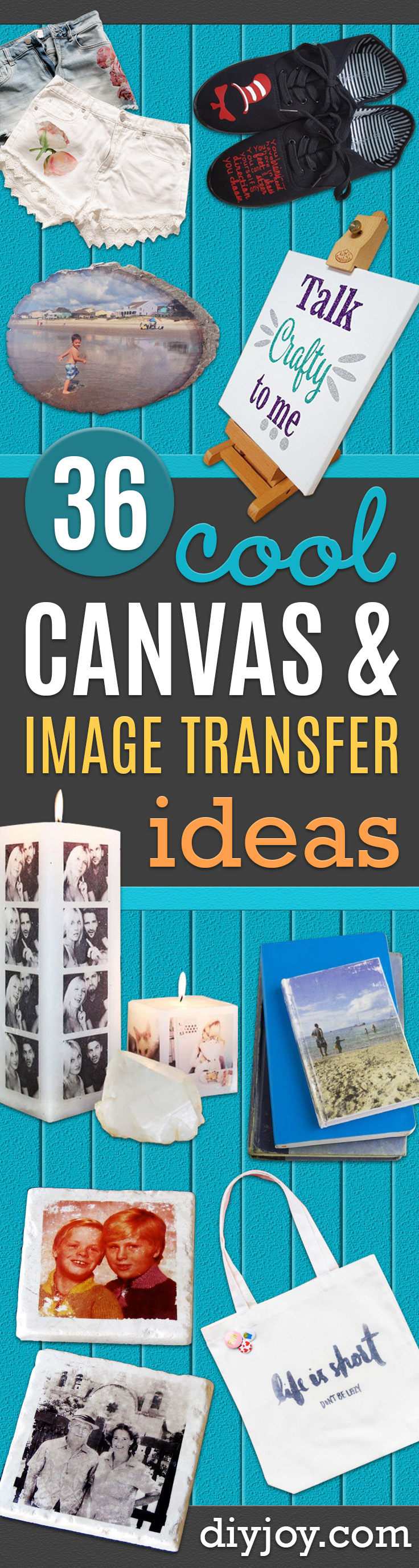How to Transfer an Image to Canvas- Cheap DIY Christmas Gifts - Creative Gifts to Make With Photographs - Fun Ways to Display Instagram Photos - Handmade Presents for Friends - Unique Gift Ideas to Make for Birthdays, Holidays, Friends and Family, Mom and Dad