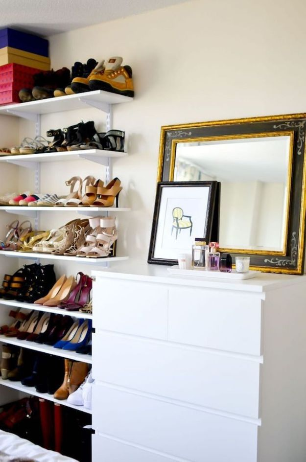 Closet Organization Ideas - Add A Dresser - DIY Closet Organizing Tutorials - Hacks, Tips and Tricks for Closets With Storage, Shoe Racks, Small Space Idea - Projects for Bedroom, Kids, Master, Walk in