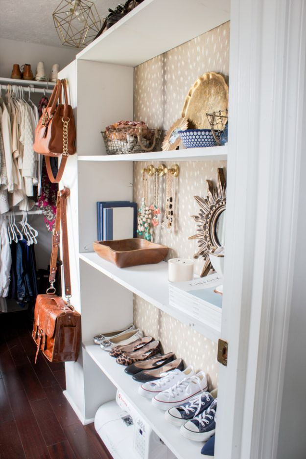 Closet Organization Ideas - Add Decor - DIY Closet Organizing Tutorials - Hacks, Tips and Tricks for Closets With Storage, Shoe Racks, Small Space Idea - Projects for Bedroom, Kids, Master, Walk in