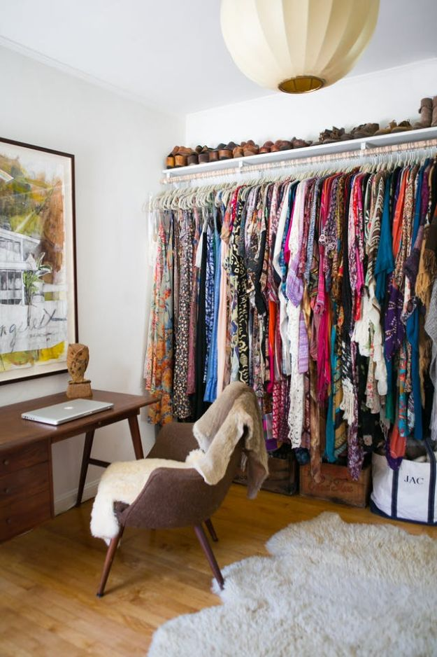 Closet Organization Ideas - Add Personal Style - DIY Closet Organizing Tutorials - Hacks, Tips and Tricks for Closets With Storage, Shoe Racks, Small Space Idea - Projects for Bedroom, Kids, Master, Walk in