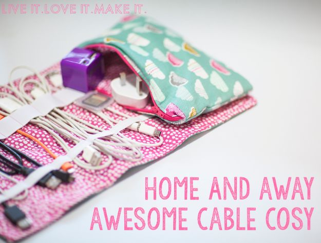 Crafts To Make and Sell - Awesome Cable Cosy - 75 MORE Easy DIY Ideas for Cheap Things To Sell on Etsy, Online and for Craft Fairs. Make Money with crafts to sell ideas #crafts