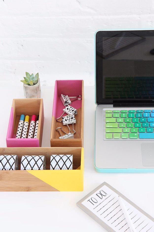 Crafts To Make and Sell - DIY Color Block Box - 75 MORE Easy DIY Ideas for Cheap Things To Sell on Etsy, Online and for Craft Fairs. Make Money with These Homemade Crafts for Teens, Kids, Christmas, Summer, Mother's Day Gifts. http://diyjoy.com/crafts-to-make-and-sell-ideas