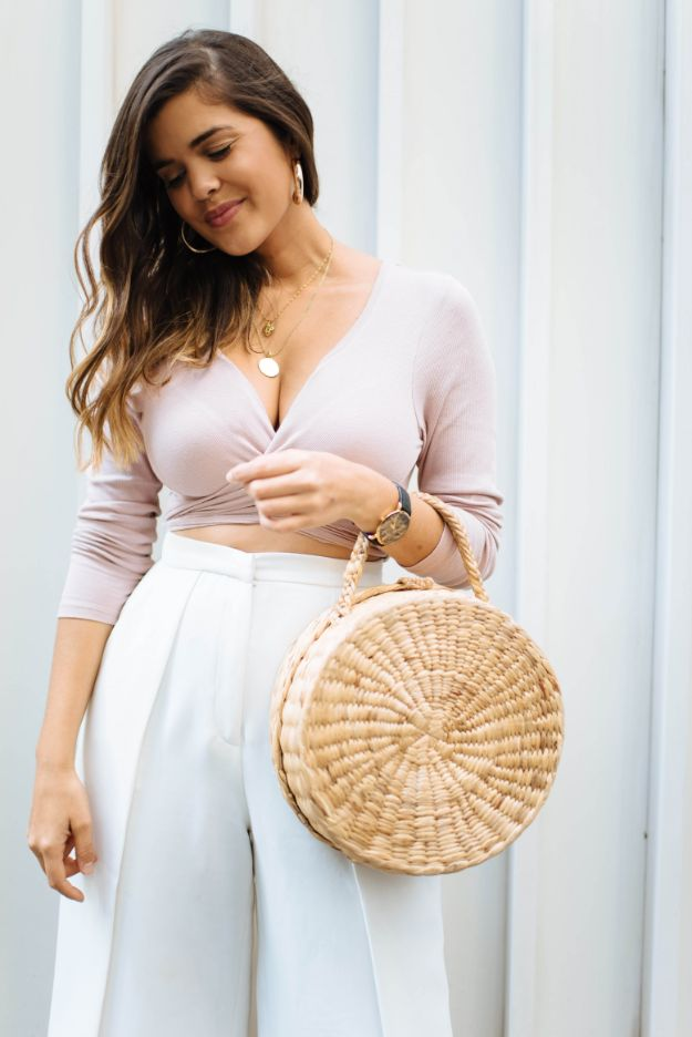 No Sew DIY Fashion Ideas - DIY Long Sleeve Wrap Top - Easy No Sew Projects to Make for Clothes, Shirts, Jeans, Pants, Skirts, Kids Clothing No Sewing Project Ideas