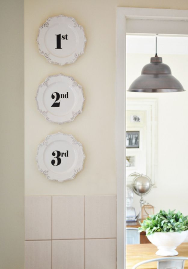 DIY Transfer Decal Onto Ceramic Plates