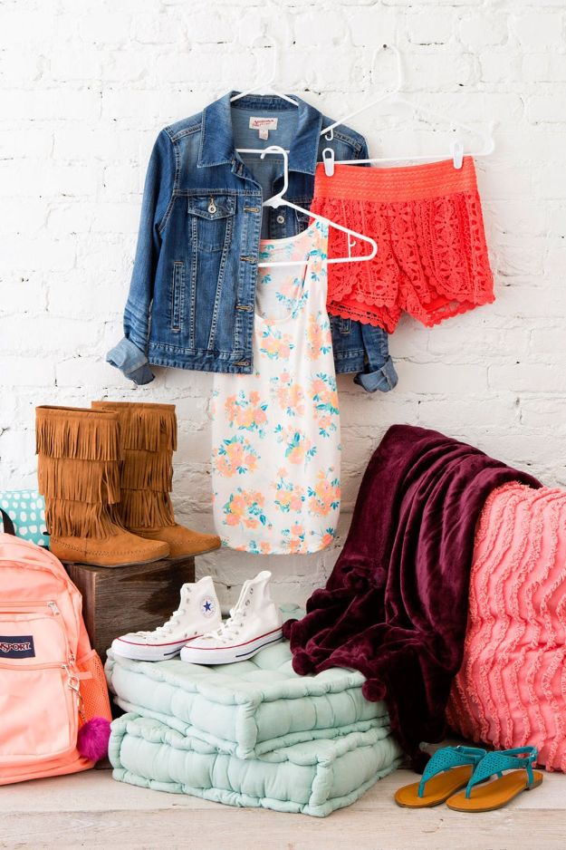 Closet Organization Ideas - Display Your New Buys - DIY Closet Organizing Tutorials - Hacks, Tips and Tricks for Closets With Storage, Shoe Racks, Small Space Idea - Projects for Bedroom, Kids, Master, Walk in