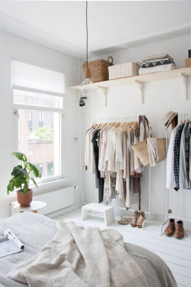 Closet Organization Ideas - Extra Storage - DIY Closet Organizing Tutorials - Hacks, Tips and Tricks for Closets With Storage, Shoe Racks, Small Space Idea - Projects for Bedroom, Kids, Master, Walk in