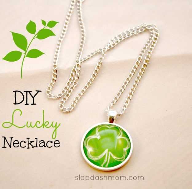 Crafts To Make and Sell - Glass Pendant Necklace - 75 MORE Easy DIY Ideas for Cheap Things To Sell on Etsy, Online and for Craft Fairs. Make Money with crafts to sell ideas #crafts
