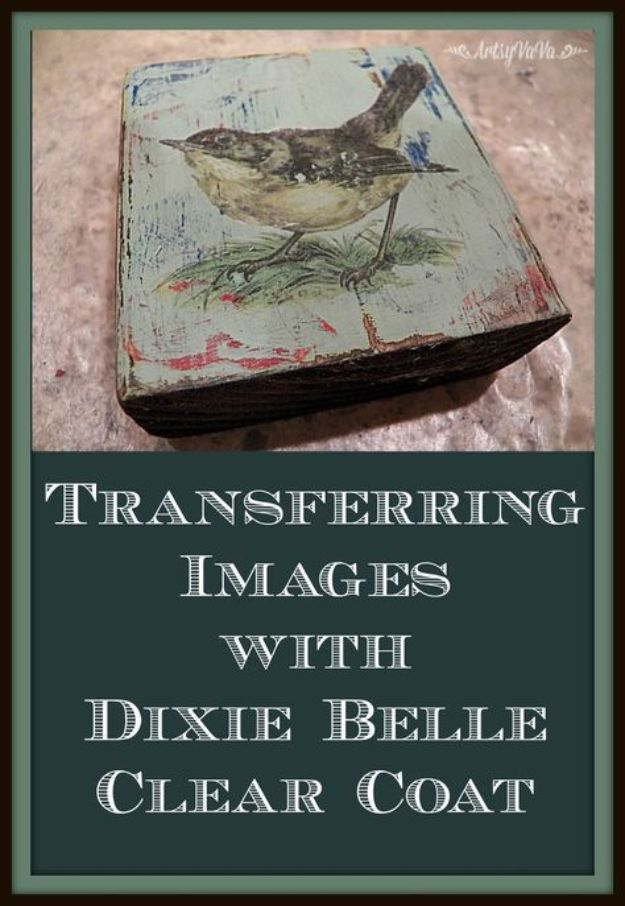 Image Transfer With Dixie Belle