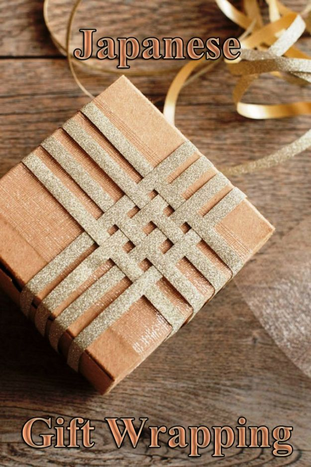 Japanese DIY Ideas and Crafts Inspired by Japan - Japanese Gift Wrapping - Boxes, Home Decorations, Room Decor, Fashion, Jewelry Tutorials, Wall Art and Gifts