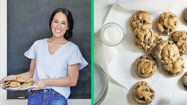 Celebrity Inspired Recipes - Joanna's Super-Gooey Chocolate Chip Cookies - Healthy Dinners, Pies, Sweets and Desserts, Cooking for Families and Holidays - Crock Pot Treats
