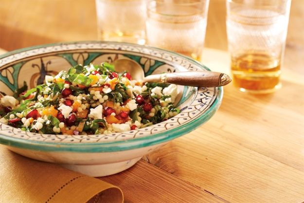Celebrity Inspired Recipes - Molly McCook's Roasted Butternut Squash and Israeli Couscous - Healthy Dinners, Pies, Sweets and Desserts, Cooking for Families and Holidays - Crock Pot Treats