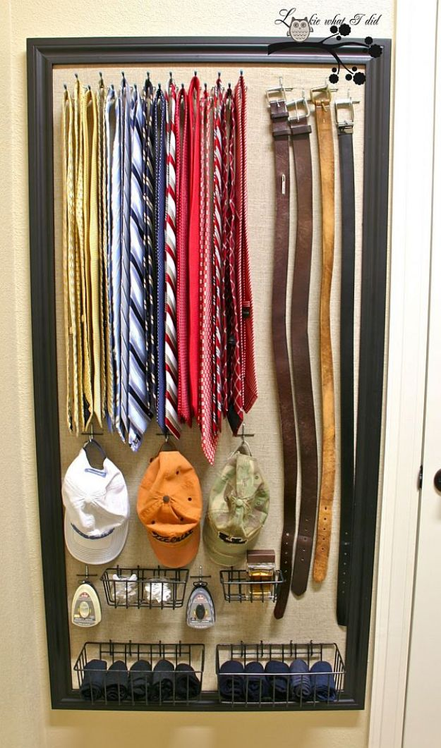 Closet Organization Ideas - Organized Closet Space - DIY Closet Organizing Tutorials - Hacks, Tips and Tricks for Closets With Storage, Shoe Racks, Small Space Idea - Projects for Bedroom, Kids, Master, Walk in