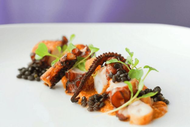 Celebrity Inspired Recipes - Raul Correa's Pulpo a la Plancha - Healthy Dinners, Pies, Sweets and Desserts, Cooking for Families and Holidays - Crock Pot Treats