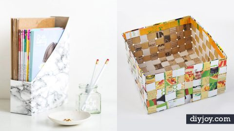 34 DIY Ideas With Cereal Boxes | DIY Joy Projects and Crafts Ideas