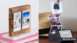 34 DIY Photo Albums To Showcase All Those Pics