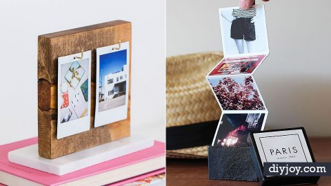 34 DIY Photo Albums To Showcase All Those Pics | DIY Joy Projects and Crafts Ideas
