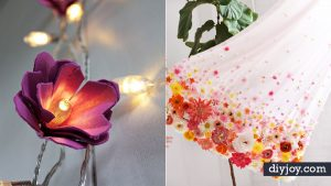 38 DIY Ideas for Faux Flowers