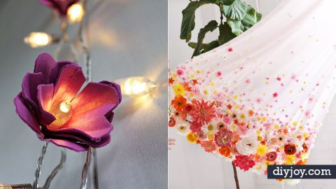 38 DIY Ideas for Faux Flowers | DIY Joy Projects and Crafts Ideas