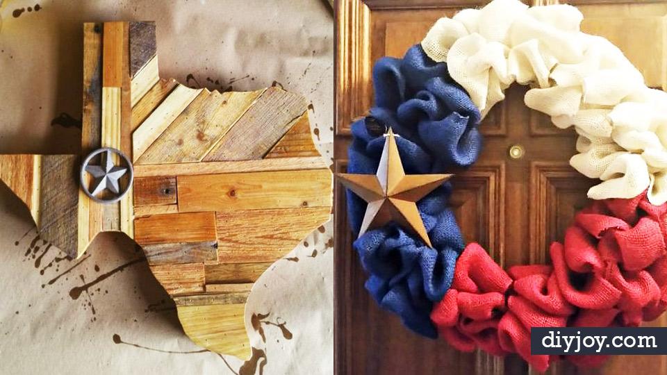 DIY Ideas For Everyone Who Loves Texas