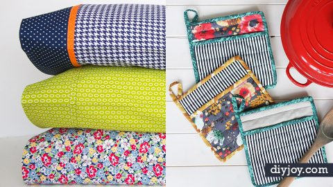 50 Sewing Projects for The Home | DIY Joy Projects and Crafts Ideas