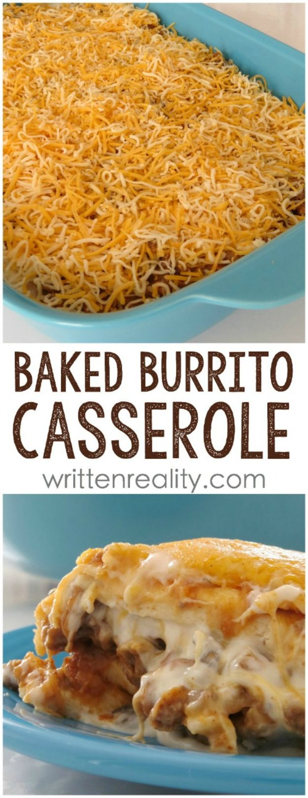 Best Mexican Food Recipes - Baked Burrito Casserole – Homemade Authentic Mexican Version - Mexican Beef Soup - Authentic Mexican Foods and Recipe Ideas for Casseroles, Quesadillas, Tacos, Appetizers, Tamales, Enchiladas, Crockpot, Chicken, Beef and Healthy Foods - Desserts and Dessert Ideas Like Churros , Flan amd Sopapillas #recipes #mexicanfood #mexicanrecipes #recipeideas #mexicandishes http://diyjoy.com/mexican-food-recipes