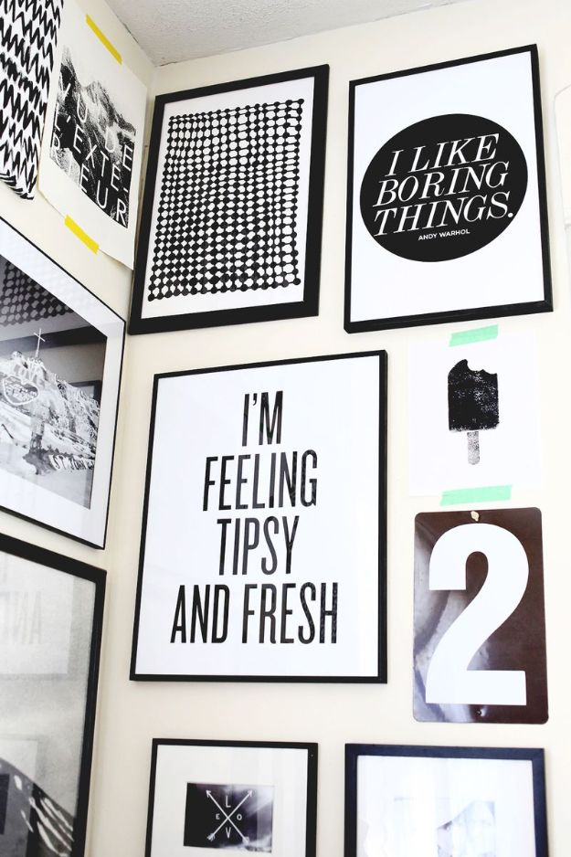 Free Printables For Your Walls - Black And White Free Printable - Easy Canvas Ideas With Free Downloadable Artwork and Quote Sayings - Best Free Prints for Wall Art and Picture to Print for Home and Bedroom Decor - Signs for the Home, Organization, Office - Quotes for Bedroom and Kitchens, Vintage Bathroom Pictures - Downloadable Printable for Kids - DIY and Crafts by DIY JOY #wallart #freeprintables #diyideas #diyart #walldecor #diyhomedecor #freeprintables