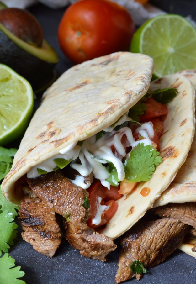 Best Mexican Food Recipes - Carne Asada – Homemade Authentic Mexican Version - Mexican Beef Soup - Authentic Mexican Foods and Recipe Ideas for Casseroles, Quesadillas, Tacos, Appetizers, Tamales, Enchiladas, Crockpot, Chicken, Beef and Healthy Foods - Desserts and Dessert Ideas Like Churros , Flan amd Sopapillas #recipes #mexicanfood #mexicanrecipes #recipeideas #mexicandishes http://diyjoy.com/mexican-food-recipes