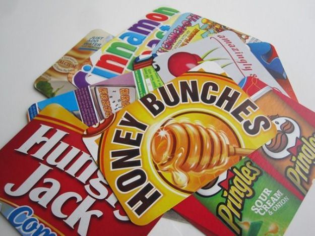 Cool DIY Ideas With Cereal Boxes - Cereal Box Postcards - Easy Organizing Ideas, Cute Kids Crafts and Creative Ways to Make Things Out of A Cereal Box - Cheap Gifts, DIY School Supplies and Storage Ideas http://diyjoy.com/diy-ideas-cereal-boxes