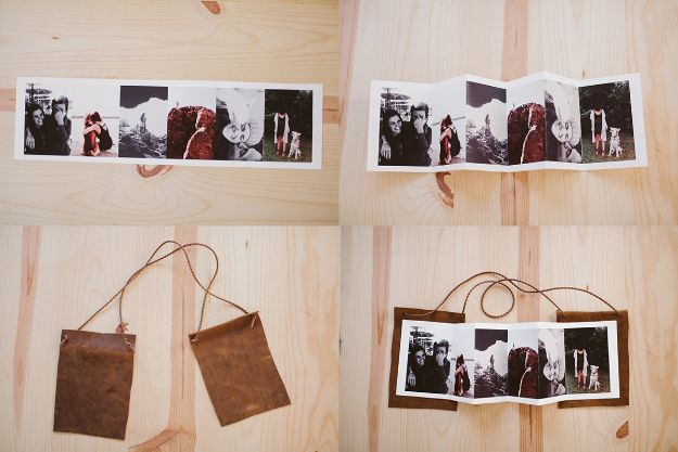 DIY Photo Albums - Creative Photo Album - Easy DIY Christmas Gifts for Grandparents, Friends, Him or Her, Mom and Dad - Creative Ideas for Making Wall Art and Home Decor With Photos