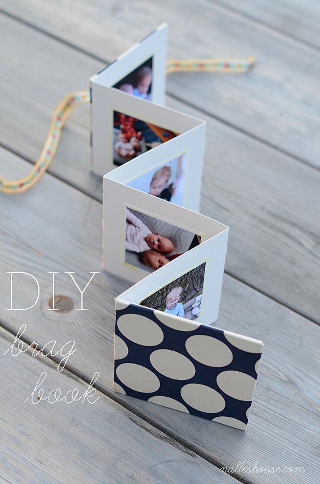 DIY Photo Albums - DIY Brag Book - Easy DIY Christmas Gifts for Grandparents, Friends, Him or Her, Mom and Dad - Creative Ideas for Making Wall Art and Home Decor With Photos