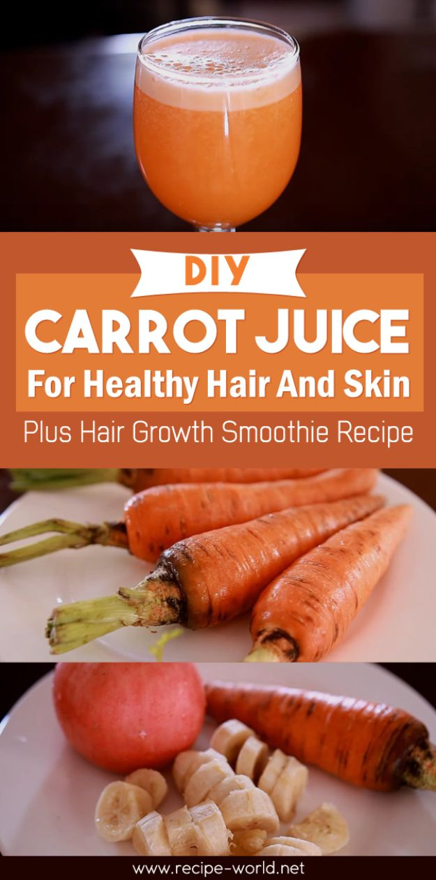 DIY Juice Recipes for Health, Detox and Energy - DIY Carrot Juice - Juicing for Beginners With Fruit and Vegetables - Recipe Ideas and Mixes for Juices That Promote Weightloss, Help With Inflammation, For Cancer, For Skin, Cleanse and for Fat Burning - Try These for Kids, for Breakfast, Lunch and Post Workout