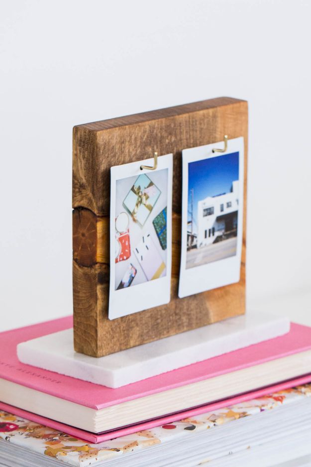 DIY Photo Albums - DIY Flip Photo Album - Easy DIY Christmas Gifts for Grandparents, Friends, Him or Her, Mom and Dad - Creative Ideas for Making Wall Art and Home Decor With Photos