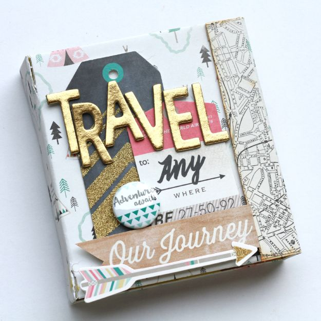 DIY Photo Albums - DIY Magnetic Album - Easy DIY Christmas Gifts for Grandparents, Friends, Him or Her, Mom and Dad - Creative Ideas for Making Wall Art and Home Decor With Photos