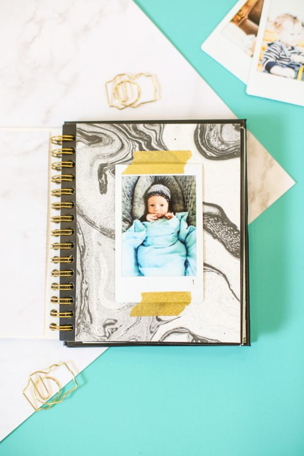 DIY Photo Albums - DIY Photo Album with Instax Film - Easy DIY Christmas Gifts for Grandparents, Friends, Him or Her, Mom and Dad - Creative Ideas for Making Wall Art and Home Decor With Photos