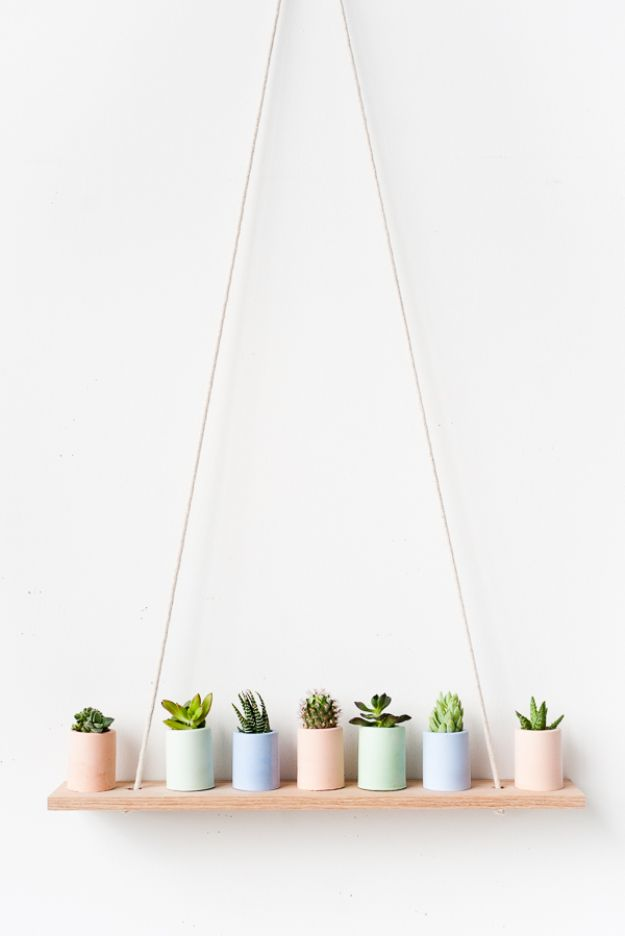 DIY Home Decor Projects for Beginners - DIY Plaster Mini Planters - Easy Homemade Decoration for Your House or Apartment - Creative Wall Art, Rugs, Furniture and Accessories for Kitchen - Quick and Cheap Ways to Decorate on A Budget - Farmhouse, Rustic, Modern, Boho and Minimalist Style With Step by Step Tutorials #diy