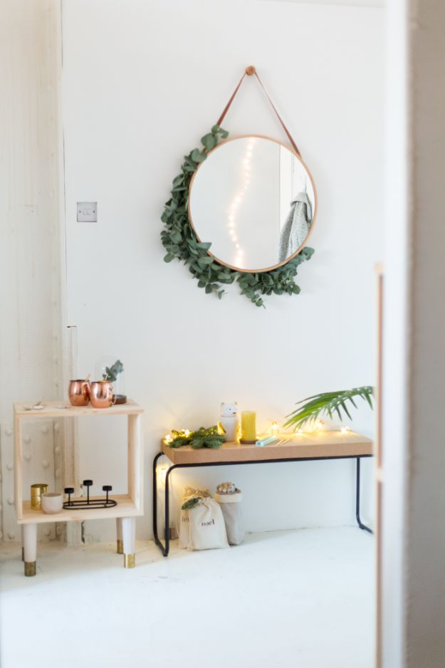 DIY Home Decor Projects for Beginners - Entryway Mirror - Easy Homemade Decoration for Your House or Apartment - Creative Wall Art, Rugs, Furniture and Accessories for Kitchen - Quick and Cheap Ways to Decorate on A Budget - Farmhouse, Rustic, Modern, Boho and Minimalist Style With Step by Step Tutorials #diy