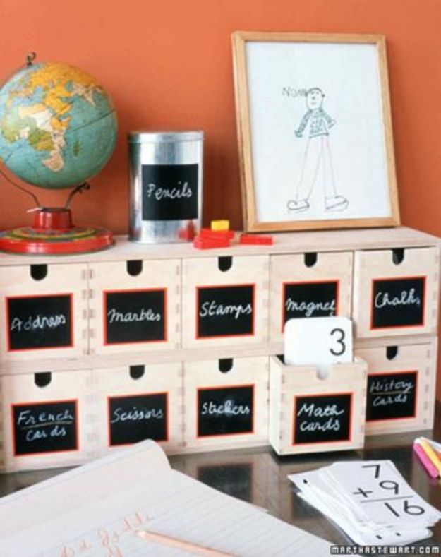 Craft Room Organization Ideas - Eraseable Labels - DIY Dollar Store Projects for Crafts - Budget Ways to Declutter While Organizing Supplies - Shelves, IKEA Hacks, Small Space Ideas