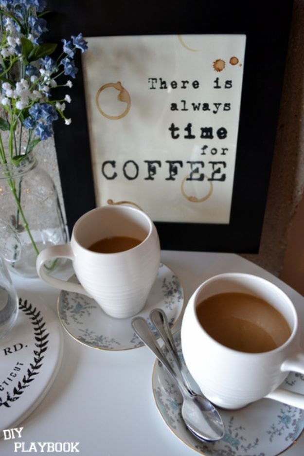 Free Printables For Your Walls - Everyone Loves Coffee- Easy Canvas Ideas With Free Downloadable Artwork and Quote Sayings - Best Free Prints for Wall Art and Picture to Print for Home and Bedroom Decor - Signs for the Home, Organization, Office - Quotes for Bedroom and Kitchens, Vintage Bathroom Pictures - Downloadable Printable for Kids - DIY and Crafts by DIY JOY #wallart #freeprintables #diyideas #diyart #walldecor #diyhomedecor #freeprintables