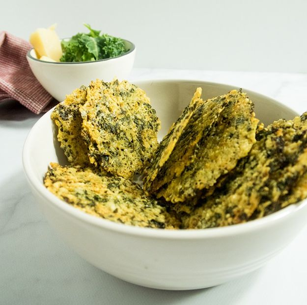 Best Kale Recipes - Four Ingredient Parmesan Kale Crisps - How to Cook Kale at Home - Healthy Green Vegetable Cooking for Salads, Soup, Lunches, Stir Fry and Dinner - Kale Chips. Salad, Shredded, Cooked, Fresh and Sauteed Kale - Vegan, Vegetarian, Keto, Low Carb and Lowfat Recipe Ideas #kale #kalerecipes #vegetablerecipes #veggies #recipeideas #dinnerideas http://diyjoy.com/best-kale-recipes