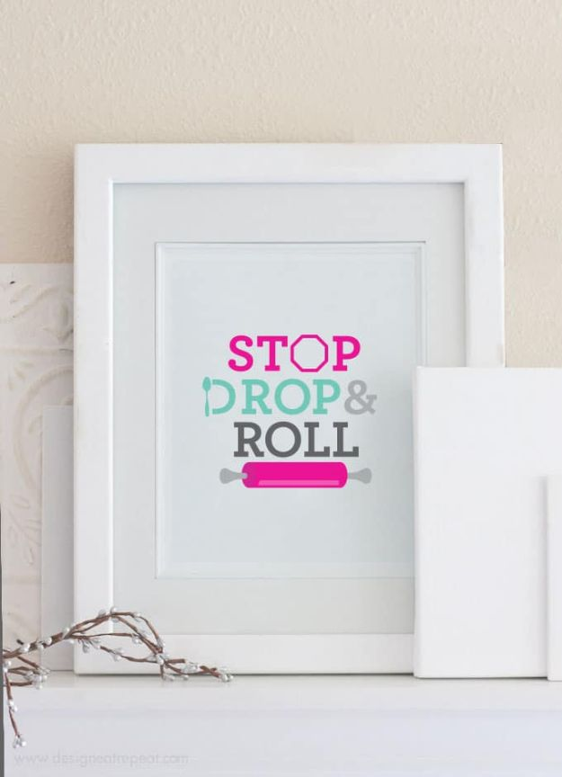 Free Printables For Your Walls - Free Baking Printable Wall Art - Easy Canvas Ideas With Free Downloadable Artwork and Quote Sayings - Best Free Prints for Wall Art and Picture to Print for Home and Bedroom Decor - Signs for the Home, Organization, Office - Quotes for Bedroom and Kitchens, Vintage Bathroom Pictures - Downloadable Printable for Kids - DIY and Crafts by DIY JOY #wallart #freeprintables #diyideas #diyart #walldecor #diyhomedecor #freeprintables