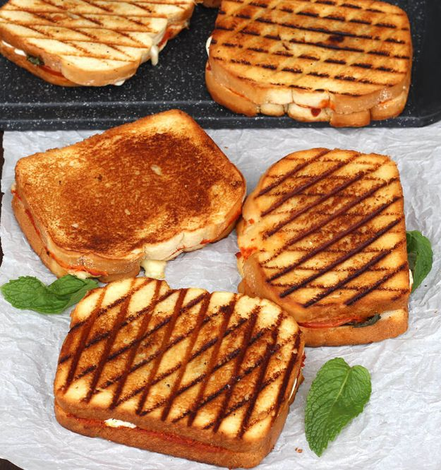 Best Recipes for the Cheese Lover - Grilled Cheese Margherita Sandwich - Easy Recipe Ideas With Cheese - Homemade Appetizers, Dips, Dinners, Snacks, Pasta Dishes, Healthy Lunches and Soups Made With Your Favorite Cheeses - Ricotta, Cheddar, Swiss, Parmesan, Goat Chevre, Mozzarella and Feta Ideas - Grilled, Healthy, Vegan and Vegetarian #cheeserecipes #recipes #recipeideas #cheese #cheeserecipe http://diyjoy.com/best-recipes-cheese-lover