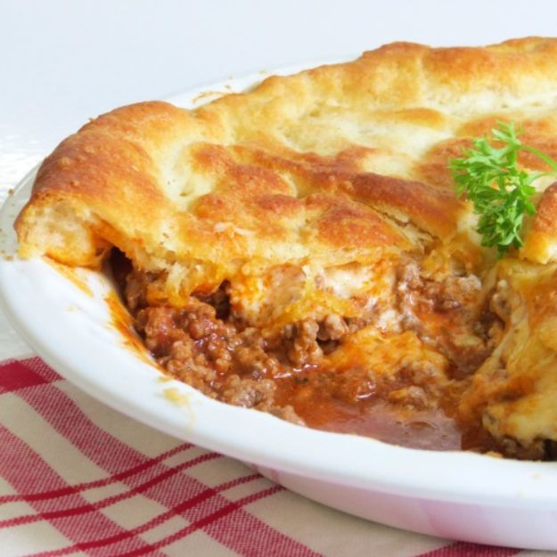 Best Recipes With Ground Beef - Ground Beef Pie - Easy Dinners and Ground Beef Recipe Ideas - Quick Lunch Salads, Casseroles, Tacos, One Skillet Meals - Healthy Crockpot Foods With Hamburger Meat - Mexican Casserole, Instant Pot Carne Molida, Low Carb and Keto Diet - Rice, Pasta, Potatoes and Crescent Rolls
